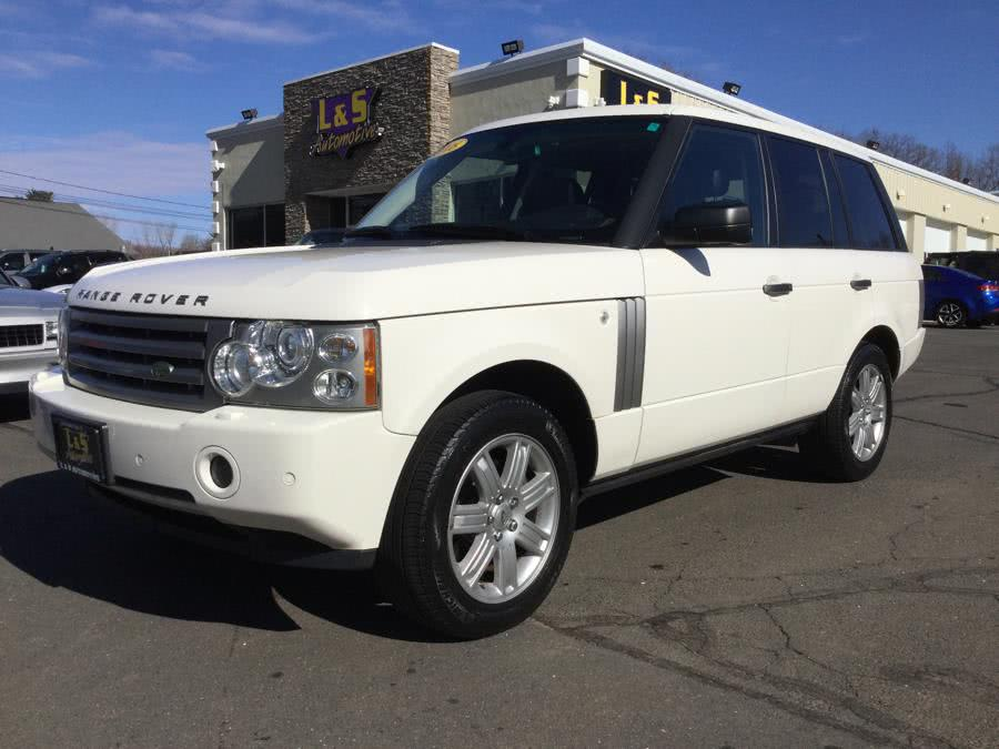 2008 Land Rover Range Rover 4WD 4dr HSE, available for sale in Plantsville, Connecticut | L&S Automotive LLC. Plantsville, Connecticut