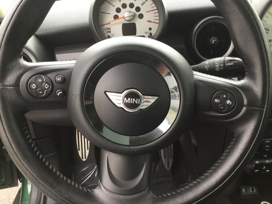 2013 MINI Cooper Hardtop 2dr Cpe S, available for sale in Plantsville, Connecticut | L&S Automotive LLC. Plantsville, Connecticut