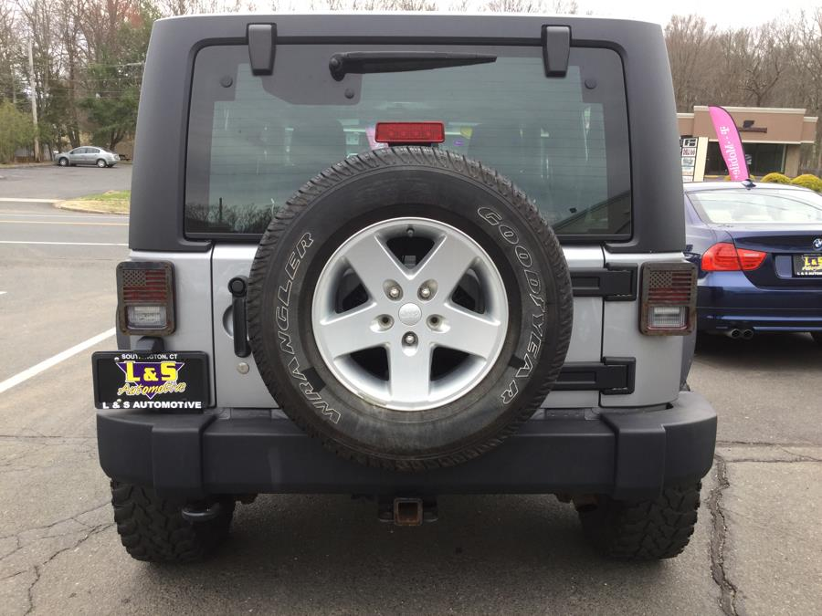 2014 Jeep Wrangler 4WD 2dr Sport, available for sale in Plantsville, Connecticut | L&S Automotive LLC. Plantsville, Connecticut