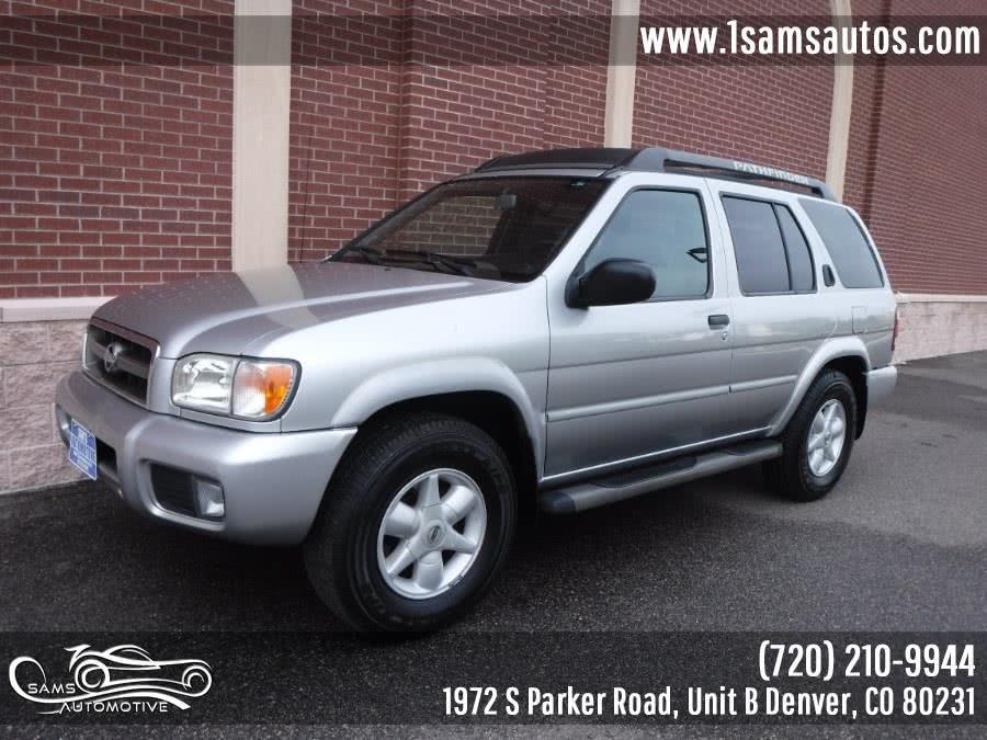 Used 2002 Nissan Pathfinder in Denver, Colorado | Sam's Automotive. Denver, Colorado