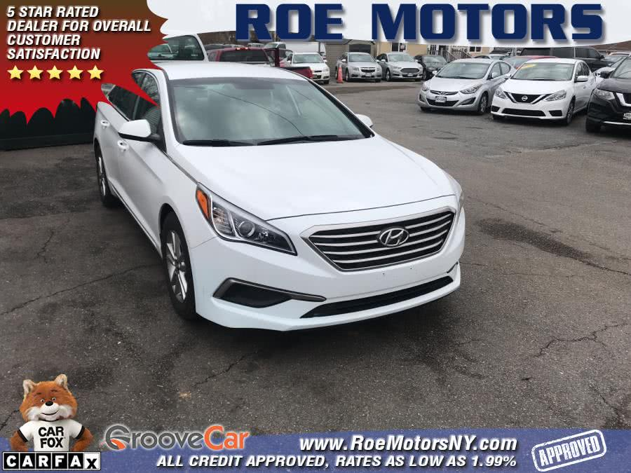 Used 2017 Hyundai Sonata in Shirley, New York | Roe Motors Ltd. Shirley, New York
