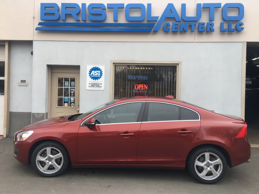2012 Volvo S60 FWD 4dr Sdn T5 w/Moonroof, available for sale in Bristol, Connecticut | Bristol Auto Center LLC. Bristol, Connecticut