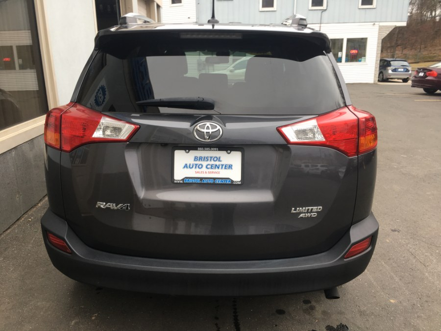 2014 Toyota RAV4 AWD 4dr Limited (Natl), available for sale in Bristol, Connecticut | Bristol Auto Center LLC. Bristol, Connecticut