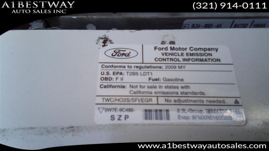2009 Ford Ranger 2WD Reg Cab 118