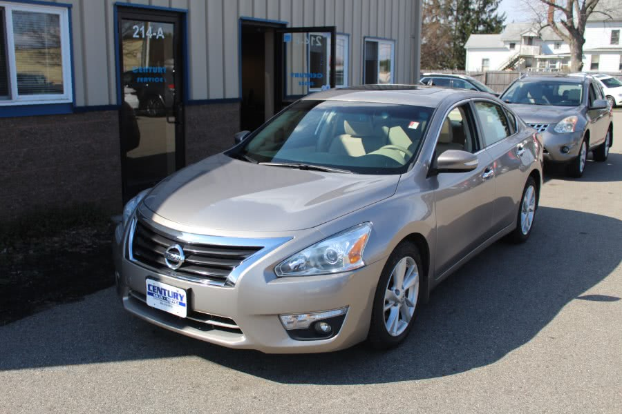 2014 Nissan Altima 4dr Sdn I4 2.5 SL, available for sale in East Windsor, Connecticut | Century Auto And Truck. East Windsor, Connecticut