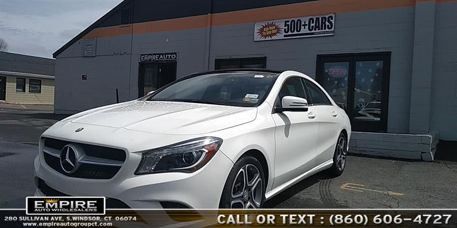 Used 2014 Mercedes-Benz CLA-Class in S.Windsor, Connecticut | Empire Auto Wholesalers. S.Windsor, Connecticut