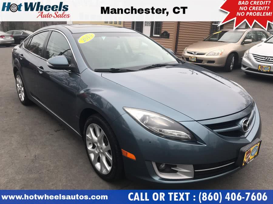 Used Mazda Mazda6 4dr Sdn Auto i Grand Touring 2013 | Hot Wheels Auto Sales LLC. Manchester, Connecticut