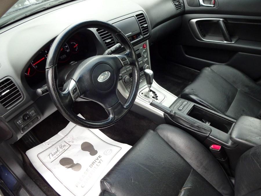 2005 Subaru Legacy Sedan 2.5 GT Ltd Auto Black Interior, available for sale in Islip, New York   Mint Auto Sales. Islip, New York