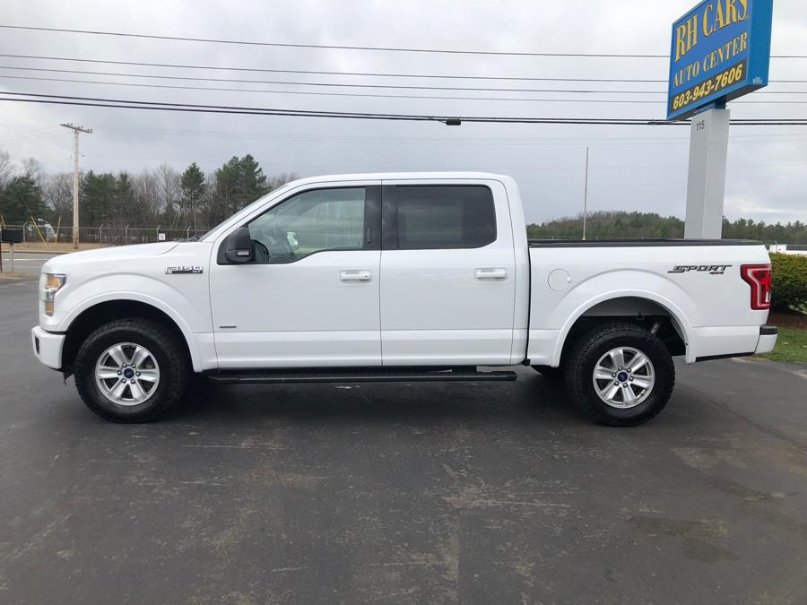 2016 Ford F-150 SuperCrew XLT 4WD, available for sale in Merrimack, New Hampshire | RH Cars LLC. Merrimack, New Hampshire