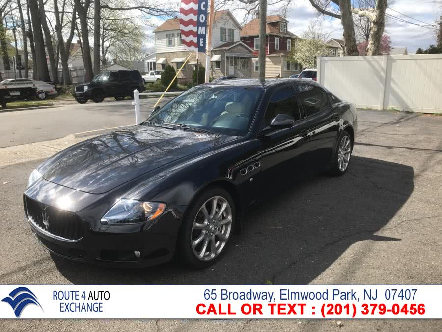 Used 2011 Maserati Quattroporte in Elmwood Park, New Jersey | Route 4 Auto Exchange. Elmwood Park, New Jersey