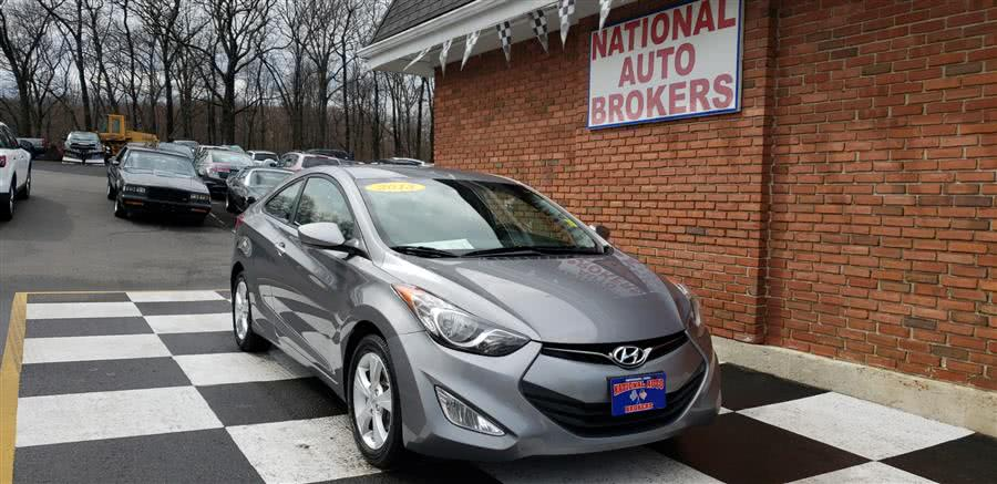 Used Hyundai Elantra Coupe 2dr Auto GS 2013 | National Auto Brokers, Inc.. Waterbury, Connecticut