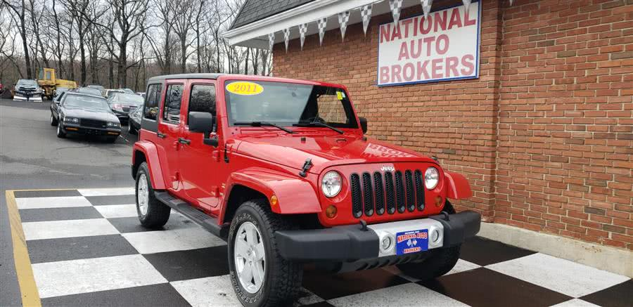 Used Jeep Wrangler Unlimited 4WD 4dr Sahara 2011 | National Auto Brokers, Inc.. Waterbury, Connecticut