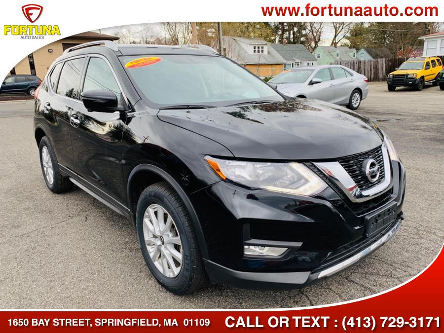 2017 Nissan Rogue SV, available for sale in Springfield, Massachusetts | Fortuna Auto Sales Inc.. Springfield, Massachusetts