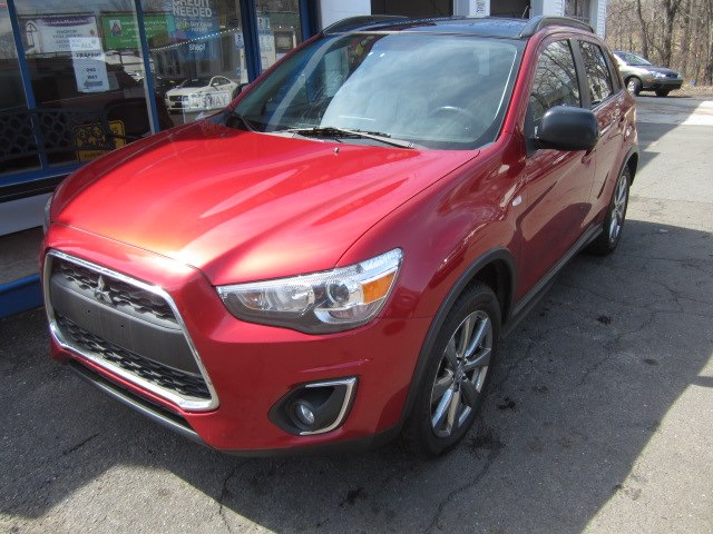 2013 Mitsubishi Outlander Sport AWD 4dr CVT LE, available for sale in Meriden, Connecticut | Cos Central Auto. Meriden, Connecticut
