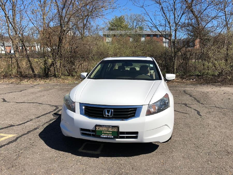2008 Honda Accord Sdn 4dr I4 Auto EX-L PZEV, available for sale in West Hartford, Connecticut | Chadrad Motors llc. West Hartford, Connecticut