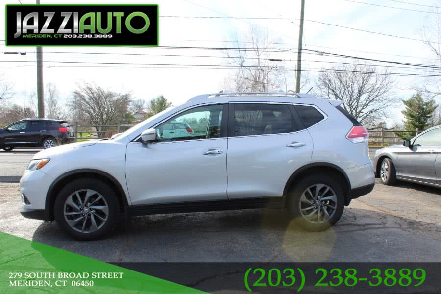 2016 Nissan Rogue AWD 4dr SL, available for sale in Meriden, Connecticut | Jazzi Auto Sales LLC. Meriden, Connecticut