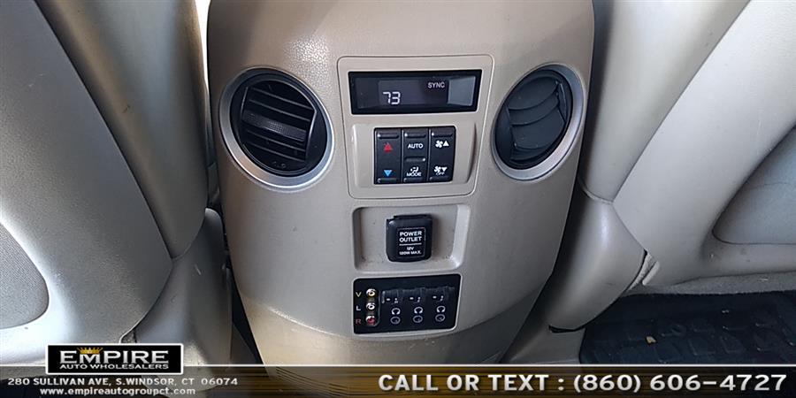 Used Honda Pilot 4WD 4dr EX-L w/RES 2009 | Empire Auto Wholesalers. S.Windsor, Connecticut