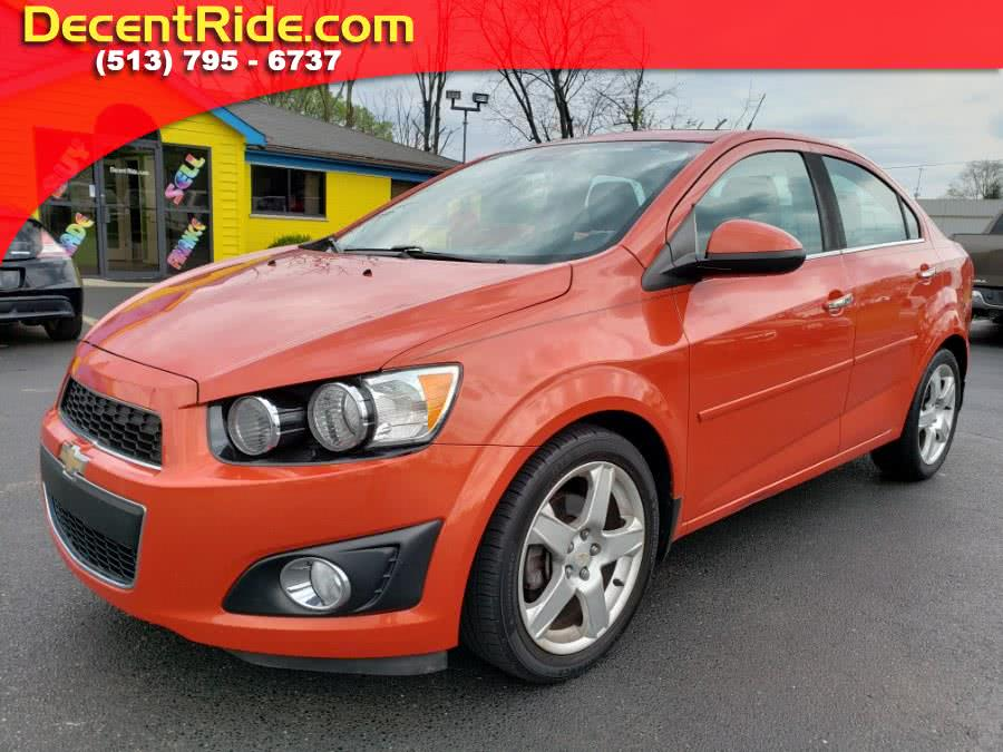 2012 Chevrolet Sonic 4dr Sdn LTZ 2LZ, available for sale in West Chester, Ohio | Decent Ride.com. West Chester, Ohio