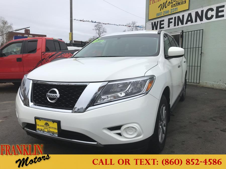 2013 Nissan Pathfinder 4WD 4dr S, available for sale in Hartford, Connecticut | Franklin Motors Auto Sales LLC. Hartford, Connecticut