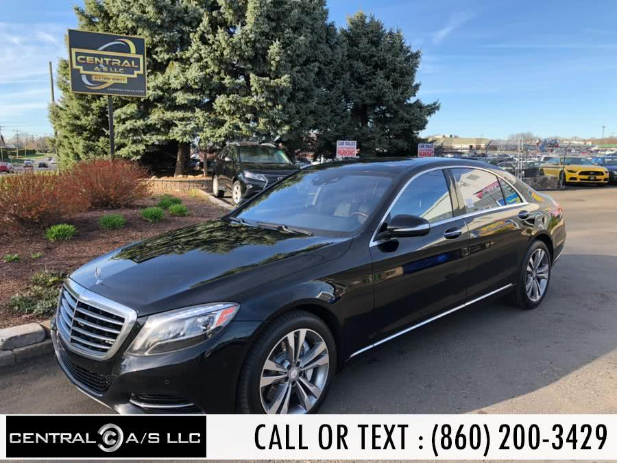 Used 2015 Mercedes-Benz S-Class in East Windsor, Connecticut | Central A/S LLC. East Windsor, Connecticut