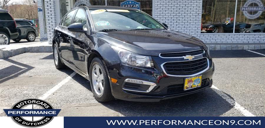 Used Chevrolet Cruze Limited 4dr Sdn Auto LT w/1LT 2016 | Performance Motorcars Inc. Wappingers Falls, New York