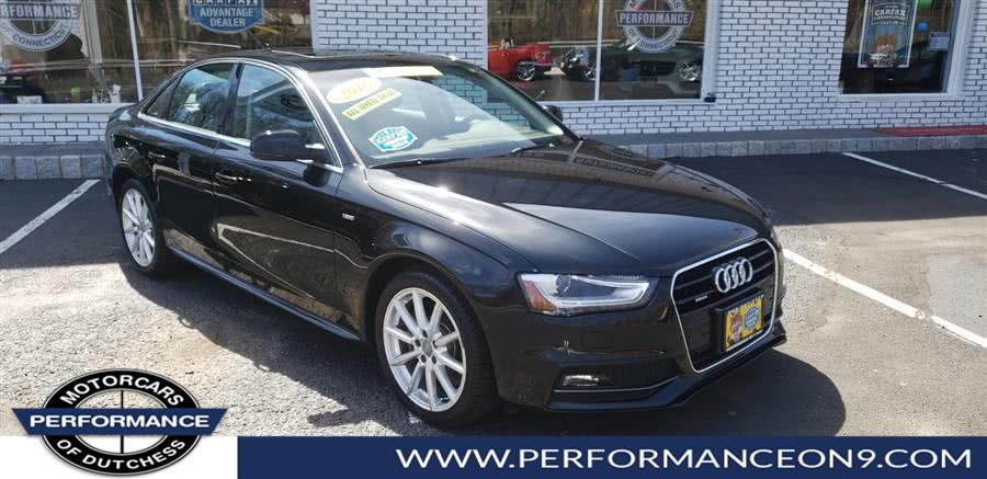 Used Audi A4 Auto quattro 2.0T Premium Plus 2016 | Performance Motorcars Inc. Wappingers Falls, New York