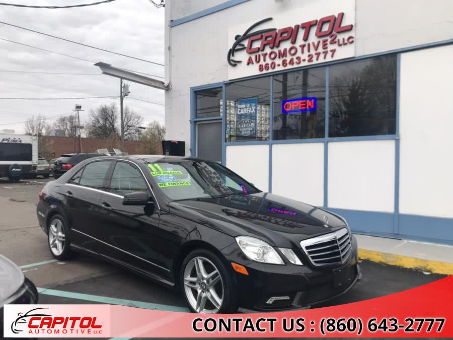 Used Mercedes-Benz E-Class 4dr Sdn E350 Luxury 4MATIC 2011 | Capitol Automotive 2 LLC. Manchester, Connecticut