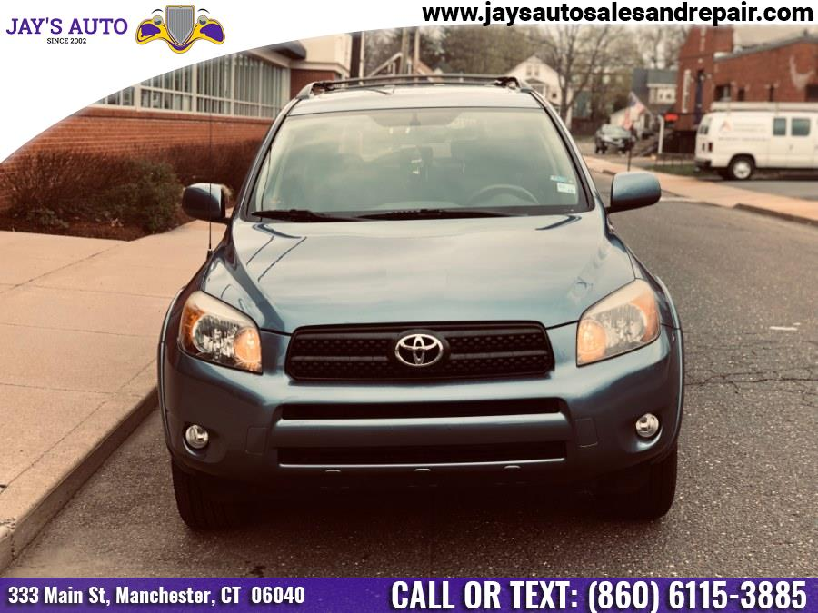 2008 Toyota RAV4 4WD 4dr 4-cyl 4-Spd AT Sport (Natl), available for sale in Manchester, Connecticut | Jay's Auto. Manchester, Connecticut