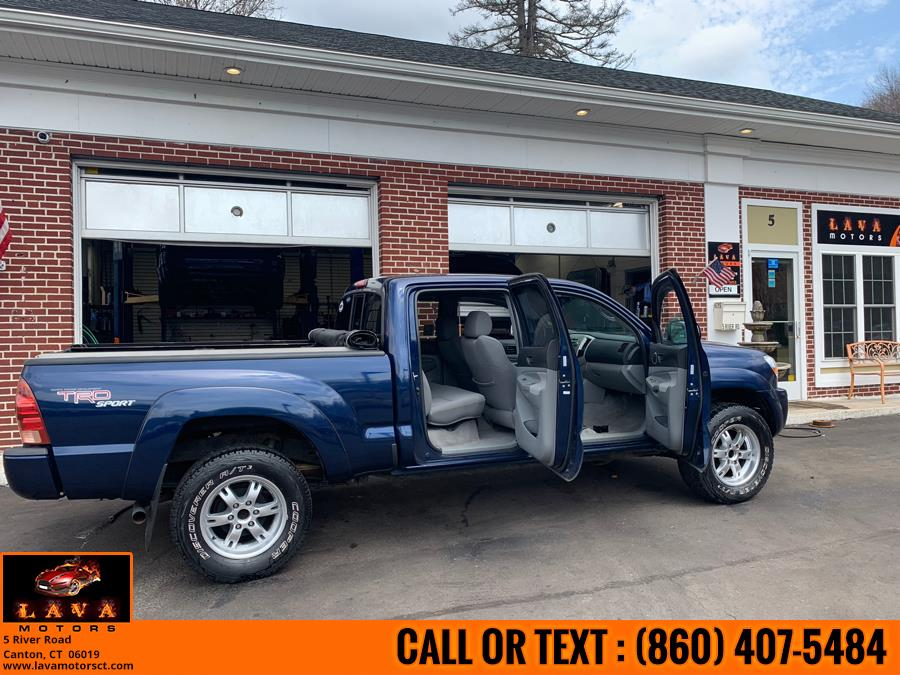 2007 Toyota Tacoma 4WD Double 141 V6 AT (Natl), available for sale in Canton, Connecticut | Lava Motors. Canton, Connecticut