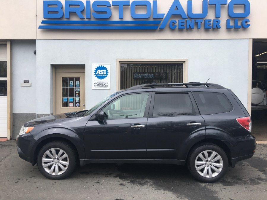 2011 Subaru Forester 4dr Auto 2.5X Premium w/All-Weather Pkg, available for sale in Bristol, Connecticut | Bristol Auto Center LLC. Bristol, Connecticut