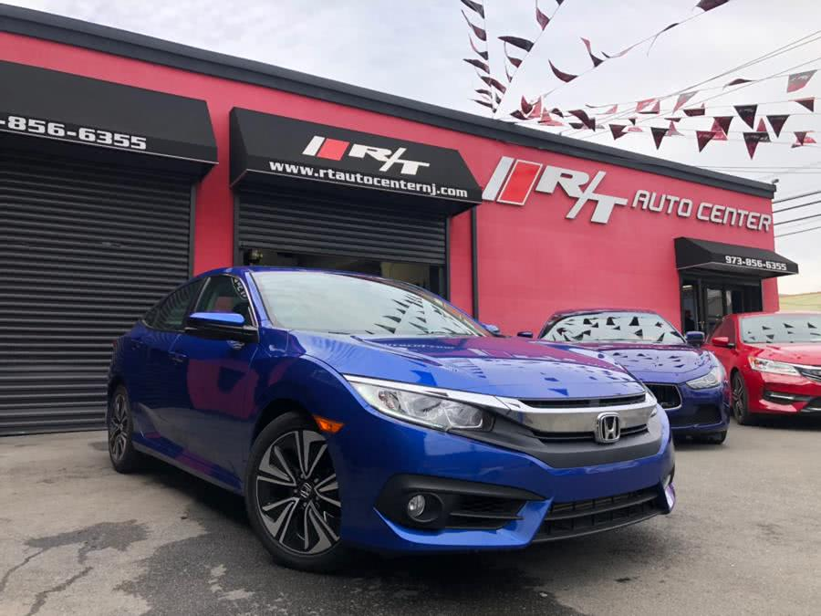 2016 Honda Civic Sedan 4dr CVT EX-T, available for sale in Newark, New Jersey | RT Auto Center LLC. Newark, New Jersey