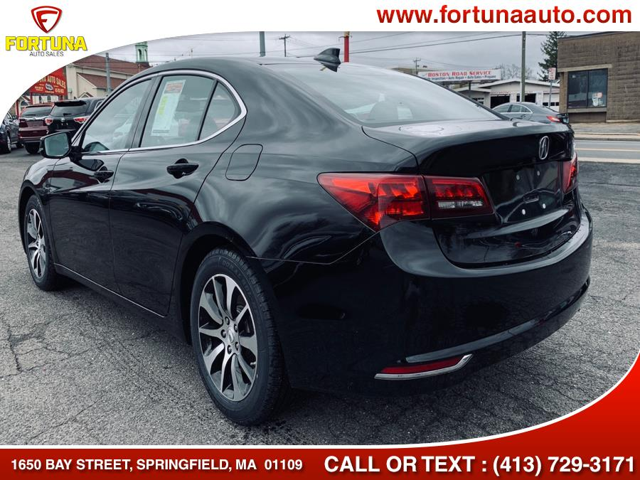 2016 Acura TLX 4dr Sdn FWD, available for sale in Springfield, Massachusetts | Fortuna Auto Sales Inc.. Springfield, Massachusetts