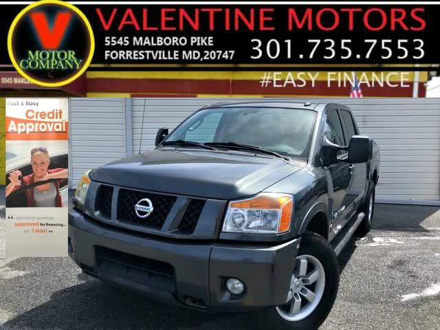 Used 2011 Nissan Titan in Forestville, Maryland | Valentine Motor Company. Forestville, Maryland