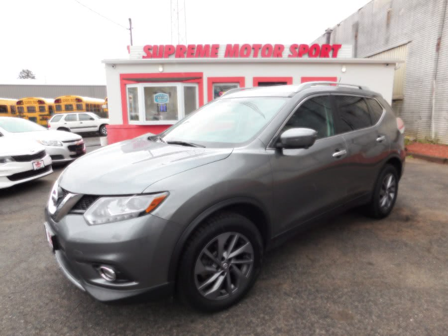 Used 2016 Nissan Rogue in Elizabeth, New Jersey | Supreme Motor Sport. Elizabeth, New Jersey
