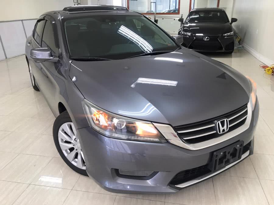 Used Honda Accord Sedan 4dr I4 CVT EX-L 2014 | Luxury Auto Group. Bronx, New York