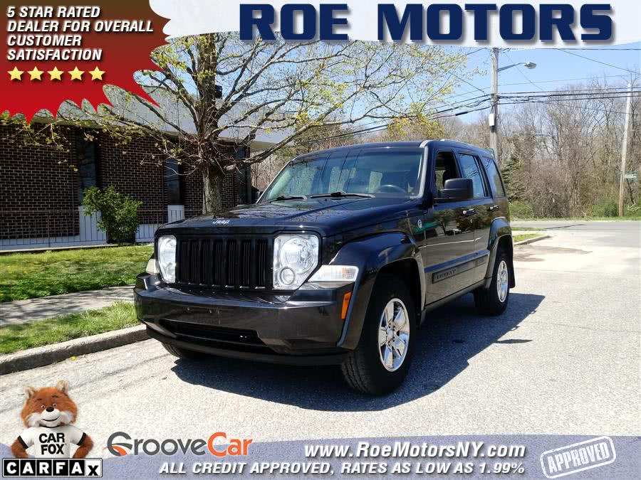 2011 Jeep Liberty 4WD 4dr Sport, available for sale in Shirley, New York | Roe Motors Ltd. Shirley, New York