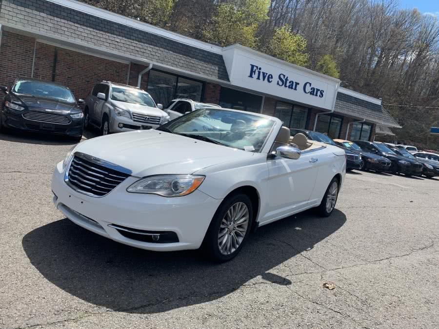 Used Chrysler 200 2dr Conv Limited 2011 | Five Star Cars LLC. Meriden, Connecticut