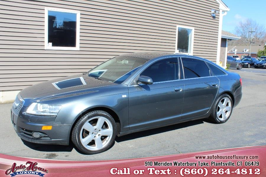 2007 Audi A6 4dr Sdn 3.2L quattro, available for sale in Plantsville, Connecticut | Auto House of Luxury. Plantsville, Connecticut