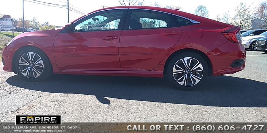 2016 Honda Civic Sedan 4dr CVT EX-T, available for sale in S.Windsor, Connecticut | Empire Auto Wholesalers. S.Windsor, Connecticut