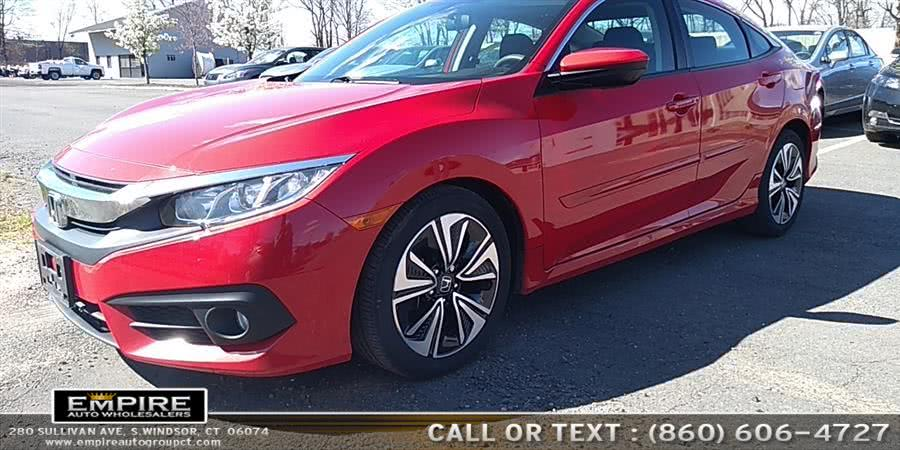 Used Honda Civic Sedan 4dr CVT EX-T 2016 | Empire Auto Wholesalers. S.Windsor, Connecticut