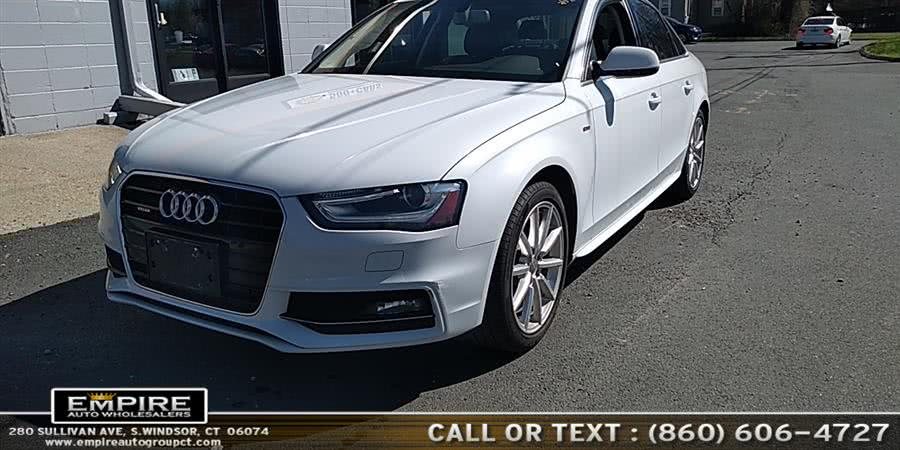 Used 2015 Audi A4 in S.Windsor, Connecticut | Empire Auto Wholesalers. S.Windsor, Connecticut
