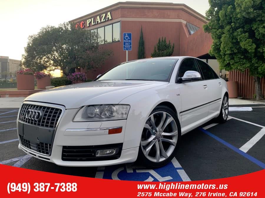 Used Audi S8 PRESTIGE 2009   High Line Motors LLC. Irvine, California