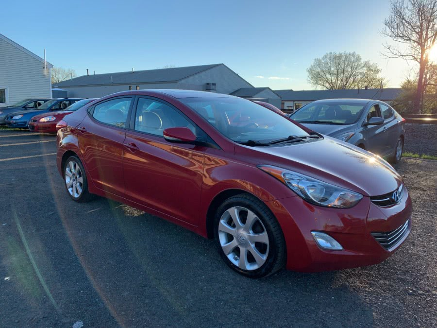 2012 Hyundai Elantra 4dr Sdn Auto Limited, available for sale in Wallingford, Connecticut | Wallingford Auto Center LLC. Wallingford, Connecticut