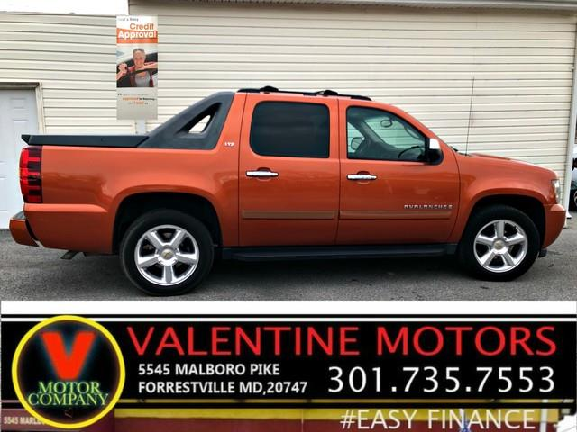 2007 Chevrolet Avalanche LT w/2LT, available for sale in Forestville, Maryland | Valentine Motor Company. Forestville, Maryland