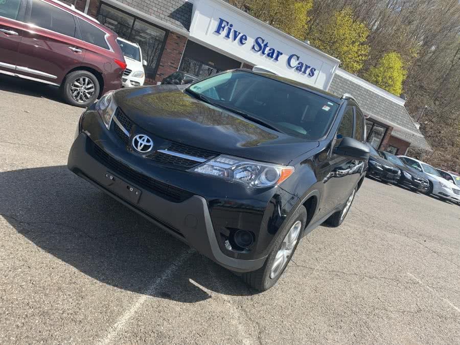 Used Toyota RAV4 AWD 4dr LE (Natl) 2015 | Five Star Cars LLC. Meriden, Connecticut
