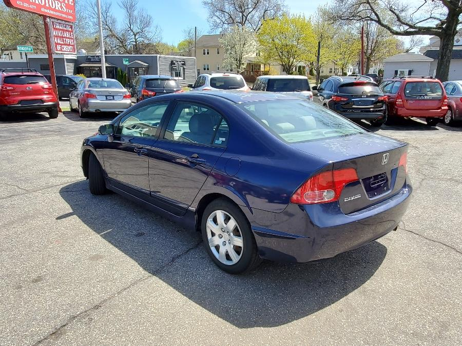 2007 Honda Civic Sdn 4dr AT LX, available for sale in Springfield, Massachusetts | Absolute Motors Inc. Springfield, Massachusetts
