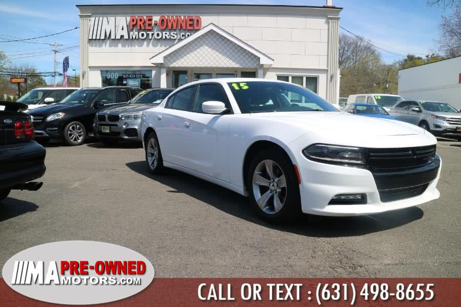 Used Dodge Charger 4dr Sdn SXT RWD 2015 | M & A Motors. Huntington, New York