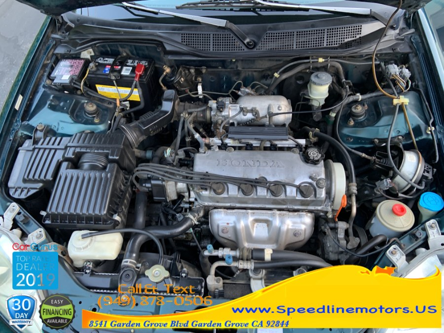 1998 Honda Civic 2dr Cpe EX Auto, available for sale in Garden Grove, California | Speedline Motors. Garden Grove, California