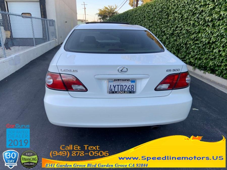 2002 Lexus ES 300 4dr Sdn, available for sale in Garden Grove, California | Speedline Motors. Garden Grove, California