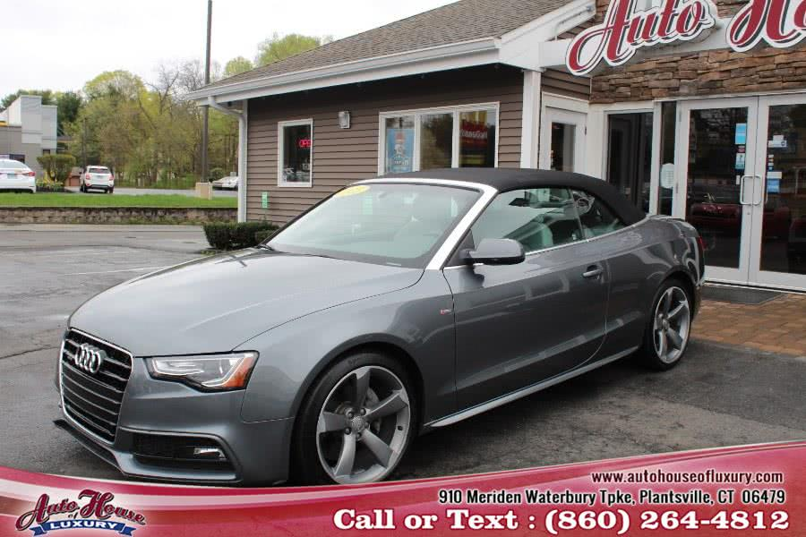 Used 2015 Audi A5 in Plantsville, Connecticut | Auto House of Luxury. Plantsville, Connecticut
